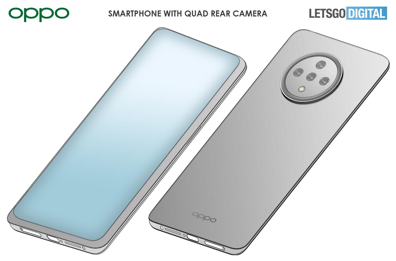 Oppo smartphone met koptelefoon aansluiting