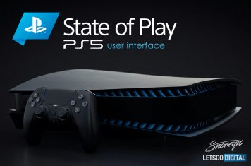 PlayStation 5 user interface