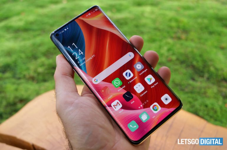 Review Oppo Find X2 Panzerglass screen protector