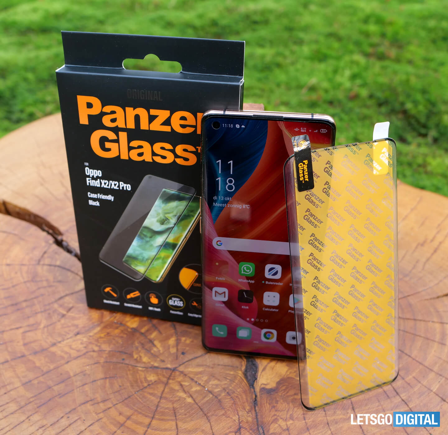 Review Oppo PanzerGlass screen protector