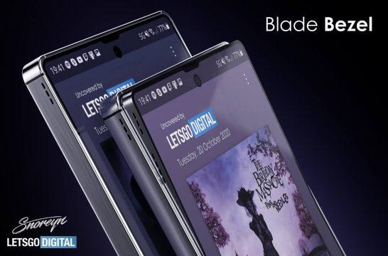 Samsung Galaxy S21 Blade Bezel