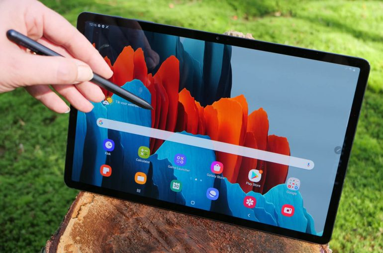 Samsung Galaxy Tab S7 plus tablet review