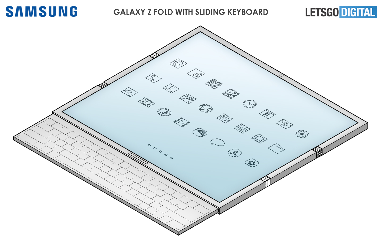 Samsung Galaxy Z Fold opvouwbare smartphone