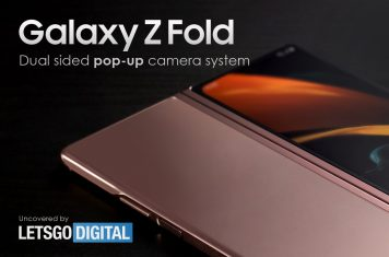 Samsung Galaxy Z Fold pop-up camera