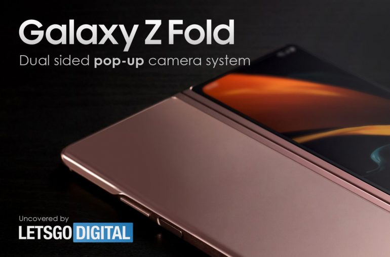 Samsung Galaxy Z Fold pop-up camera