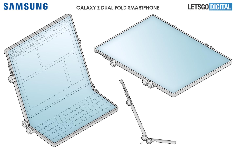 Samsung opvouwbare smartphones