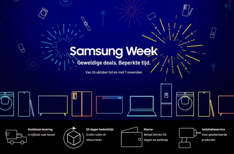 Samsung Week aanbiedingen