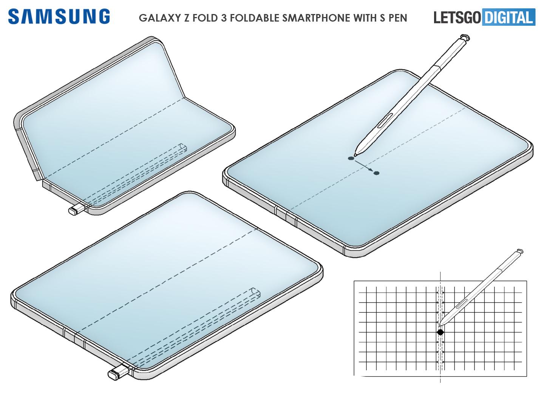 Samsung Z Fold 3 opvouwbare smartphone