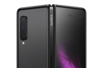 Xiaomi smartphone cover display Galaxy Fold