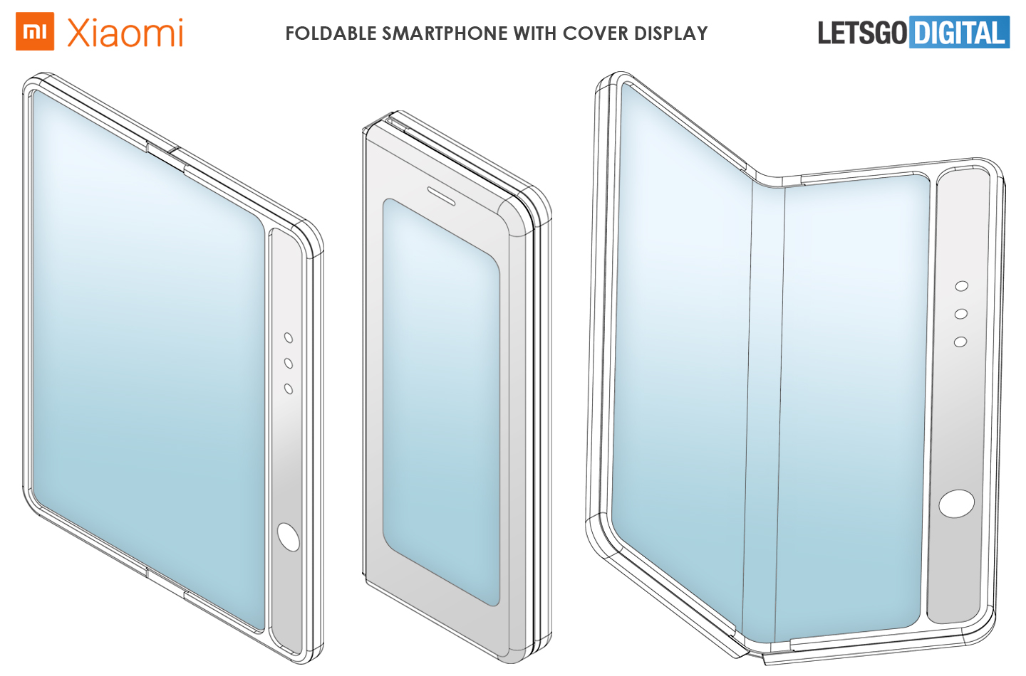 Xiaomi smartphone cover display