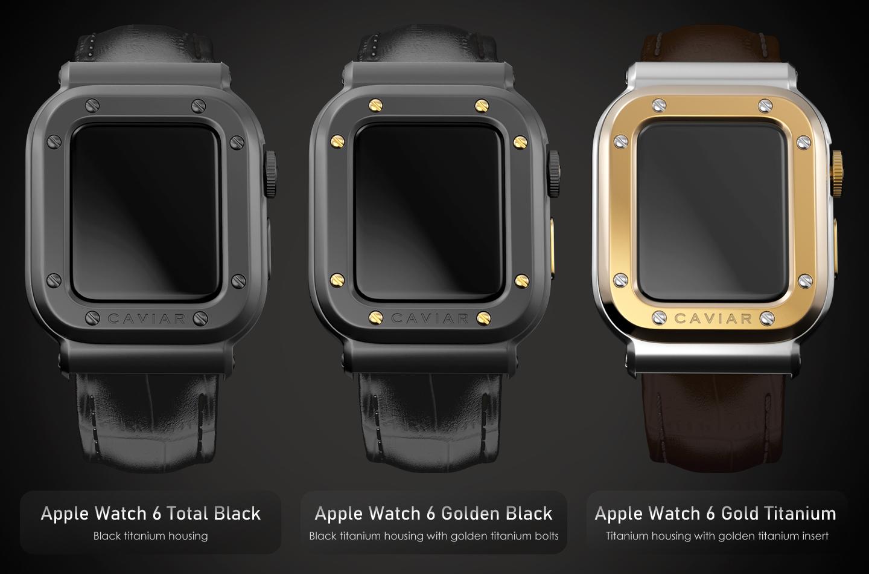 Apple Watch 6 modellen