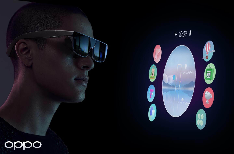 AR bril met gesture control