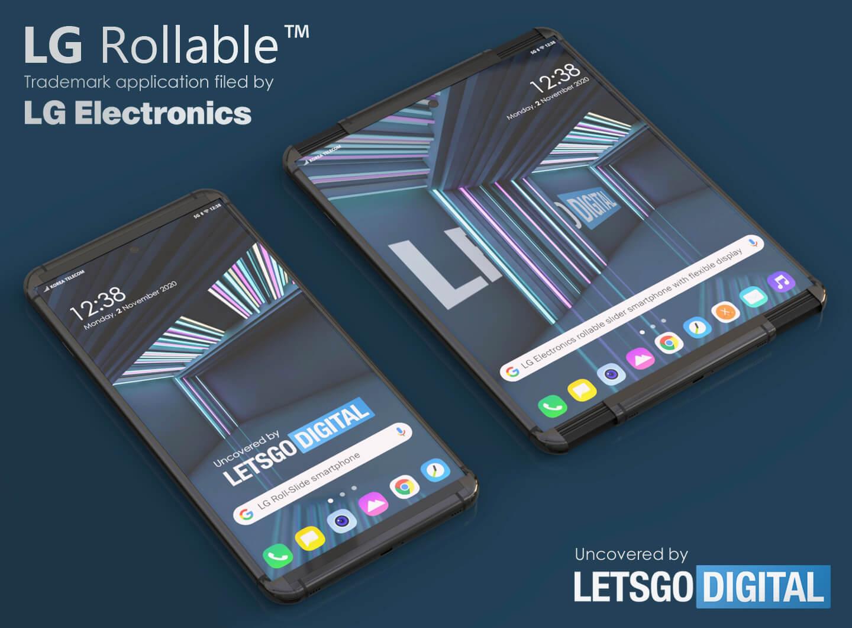 LG oprolbare smartphone