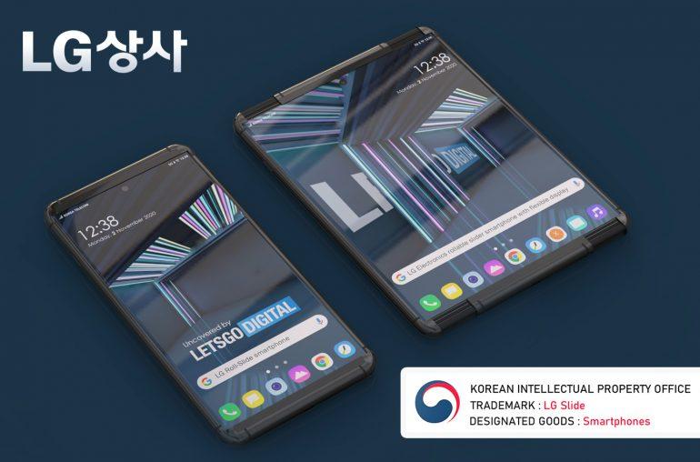 LG Slide 5G telefoon