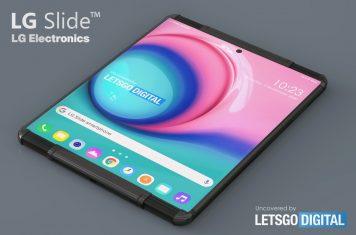 LG Slide smartphone