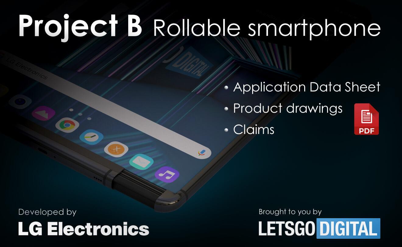 LG smartphone met oprolbaar scherm