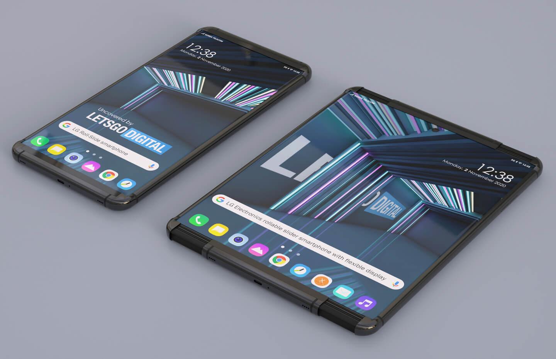Smartphone retrattile LG