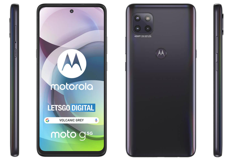 Motorola Moto 5G telefoon