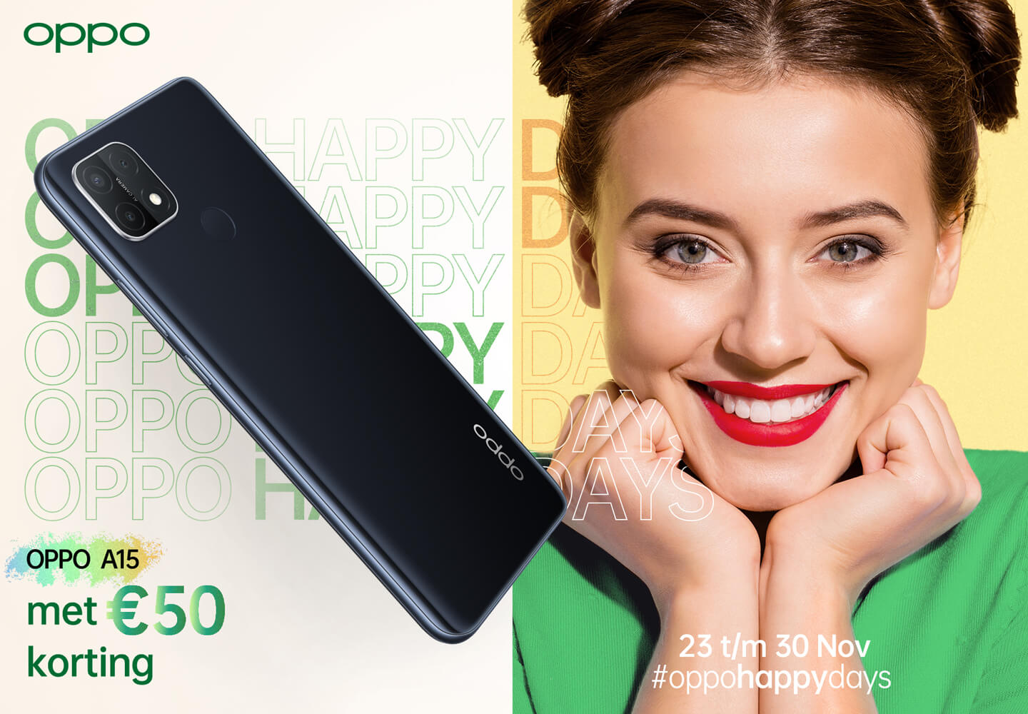 Oppo A15 black friday
