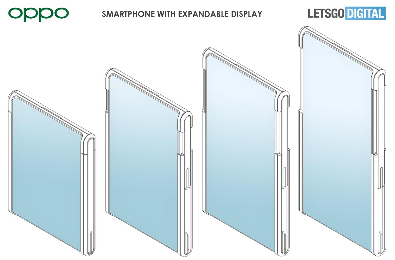 Oppo mobiele telefoon uittrekbaar display