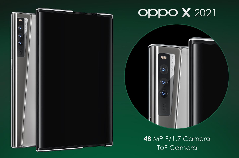 Oppo X 2021 camera