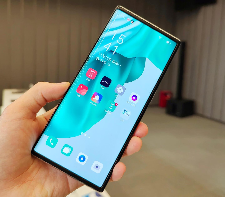 Oppo X 2021 smartphone innovatie