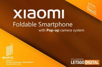 Opvouwbare smartphone Xiaomi