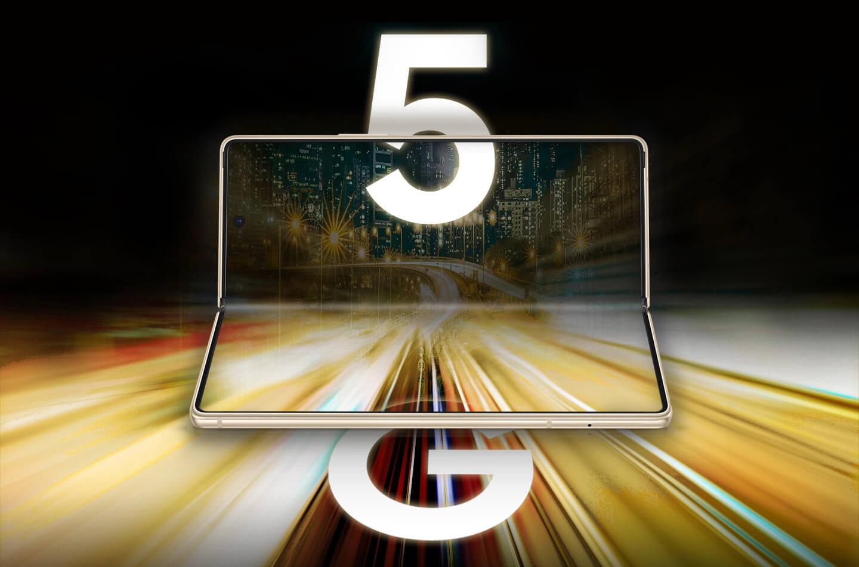 Samsung 5G opvouwbare telefoon