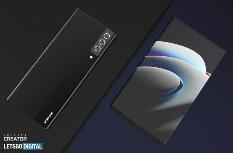 Samsung Galaxy Note rollable smartphone