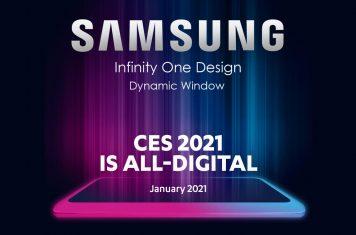 Samsung QLED TV Infinity One Design CES 2021
