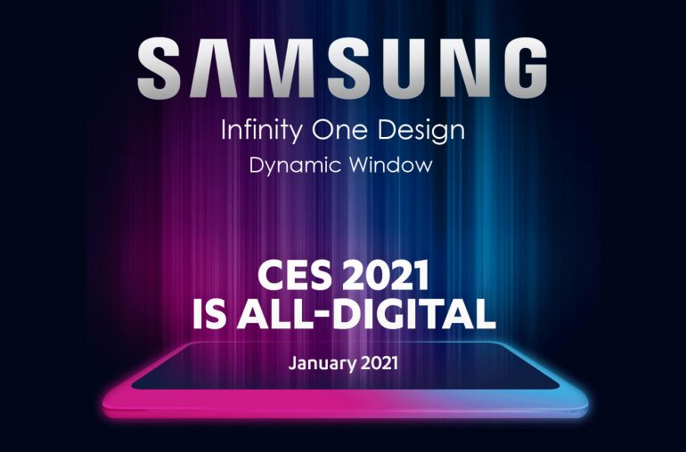 Samsung QLED TV Infinity One Design CES 2021