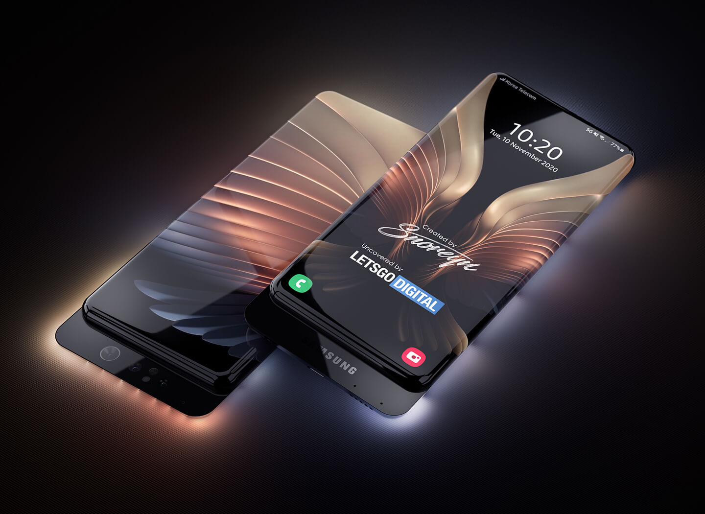 Samsung smartphone transparante behuizing