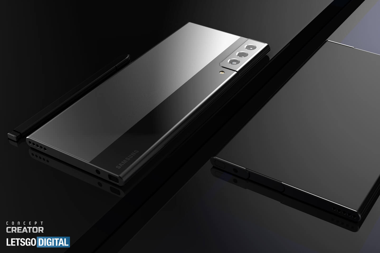 Samsung uittrekbare smartphone