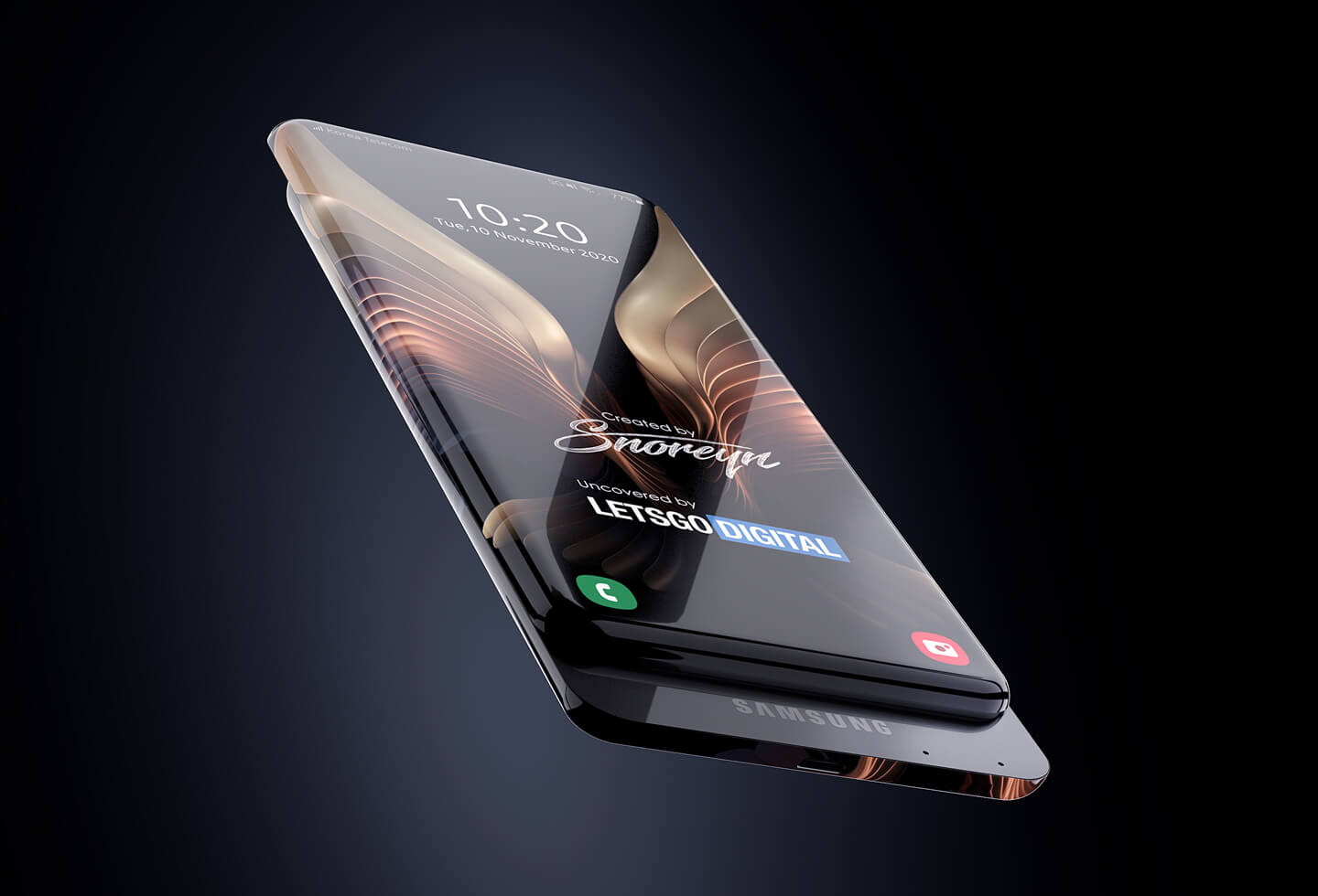 Surround display smartphone
