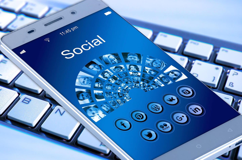 Telefoon social media