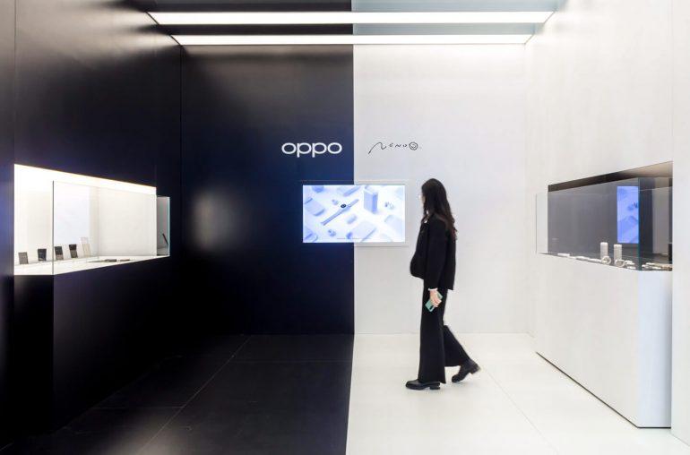 Oppo concept slide telefoon