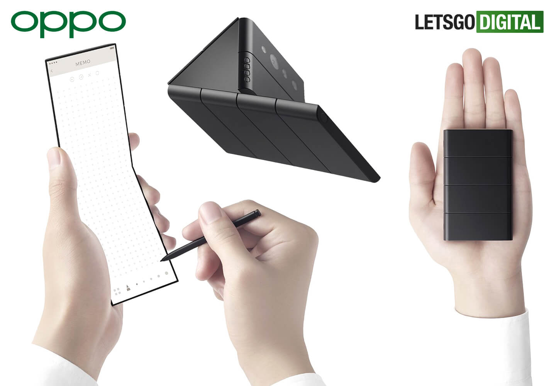 Oppo X Nendo slide telefoon