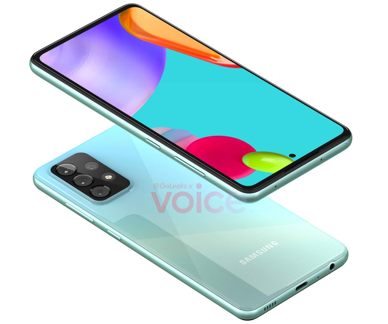 Samsung A52 5G smartphone