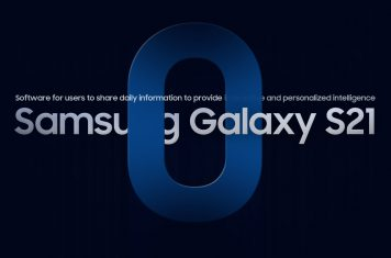 Samsung Galaxy S21 smartphone app