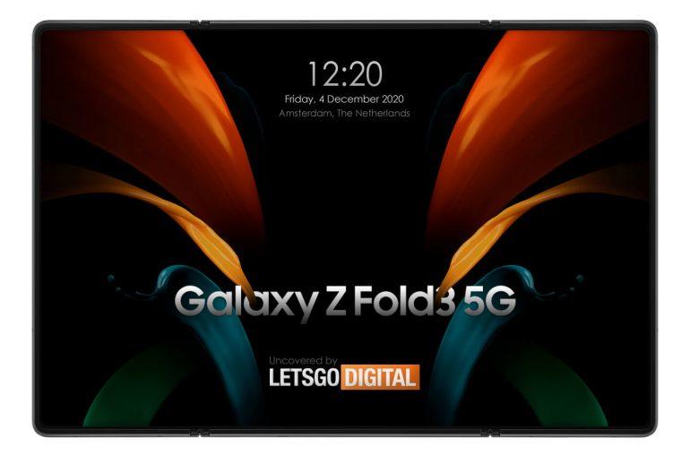 Samsung Galaxy Z Fold 3 dubbel vouwbaar scherm