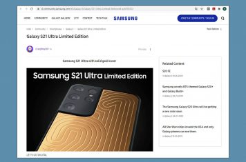 Samsung S21 NDA contract
