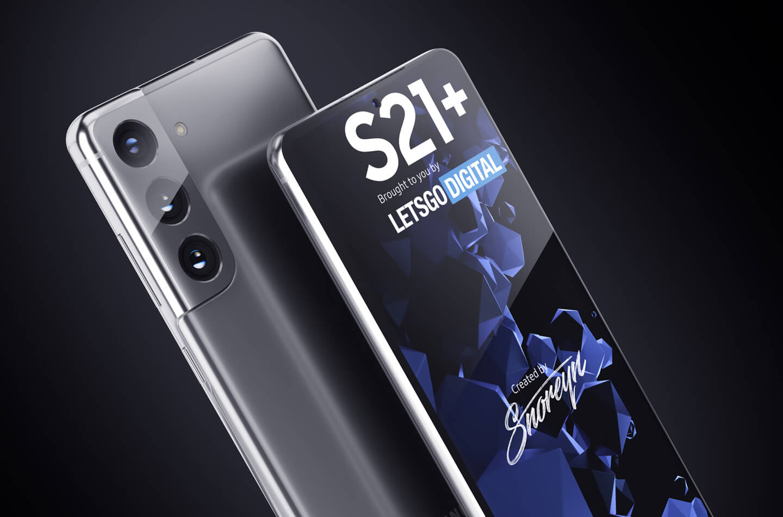 Samsung S21 Plus smartphone