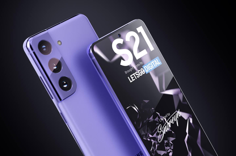 Samsung S21 smartphone
