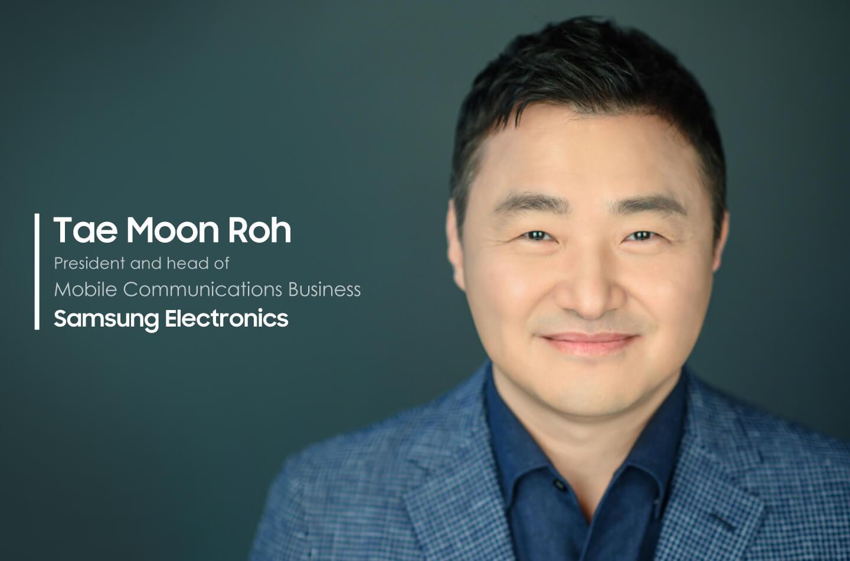 Samsung statement CEO TM Roh