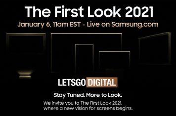 Samsung TV CES 2021