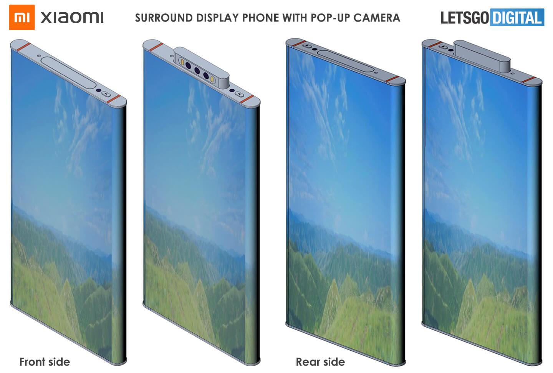 Telefoons met wrap around display