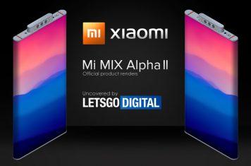 Xiaomi smartphone Mi Mix Alpha 2