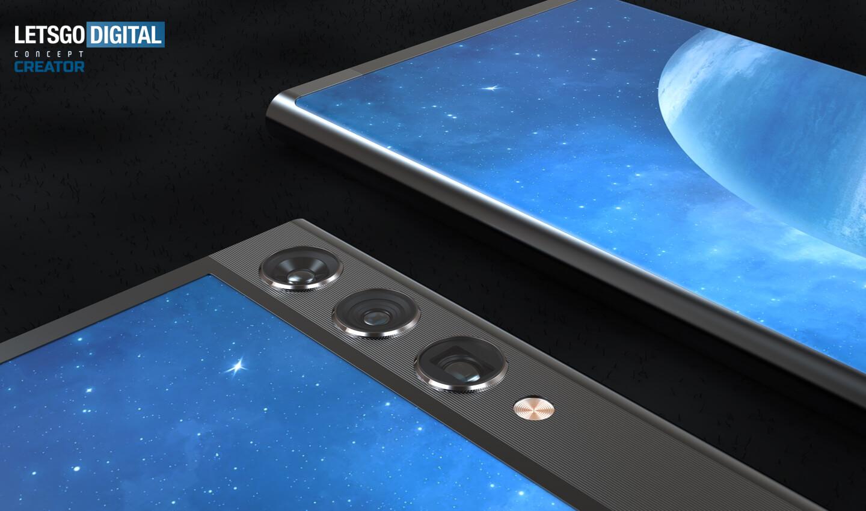 Xiaomi smartphone uittrekbaar scherm