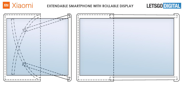 Xiaomi uittrekbare smartphone