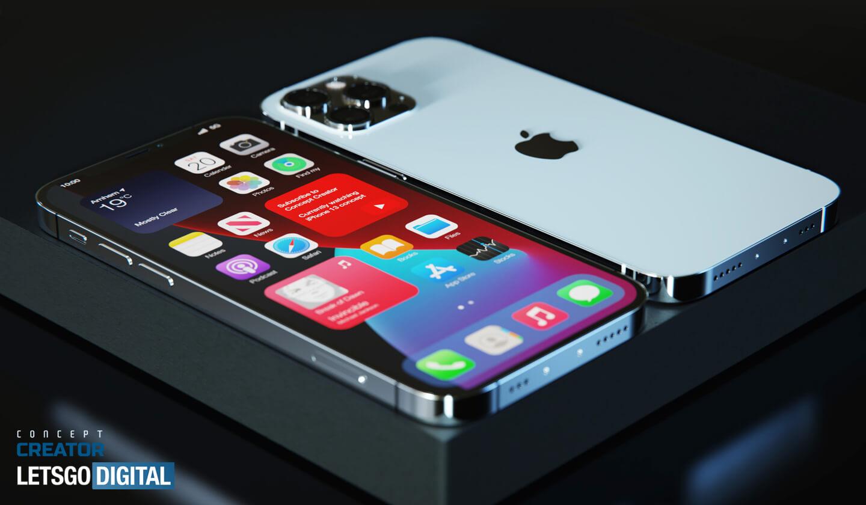 Apple iPhone under-display